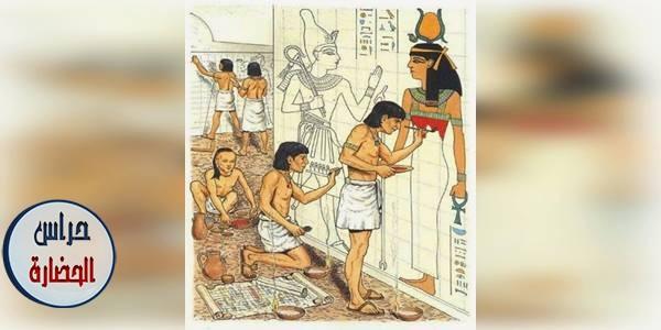 النقش والتصوير فى عهد الدولة المصرية القديمة (بحث كامل)