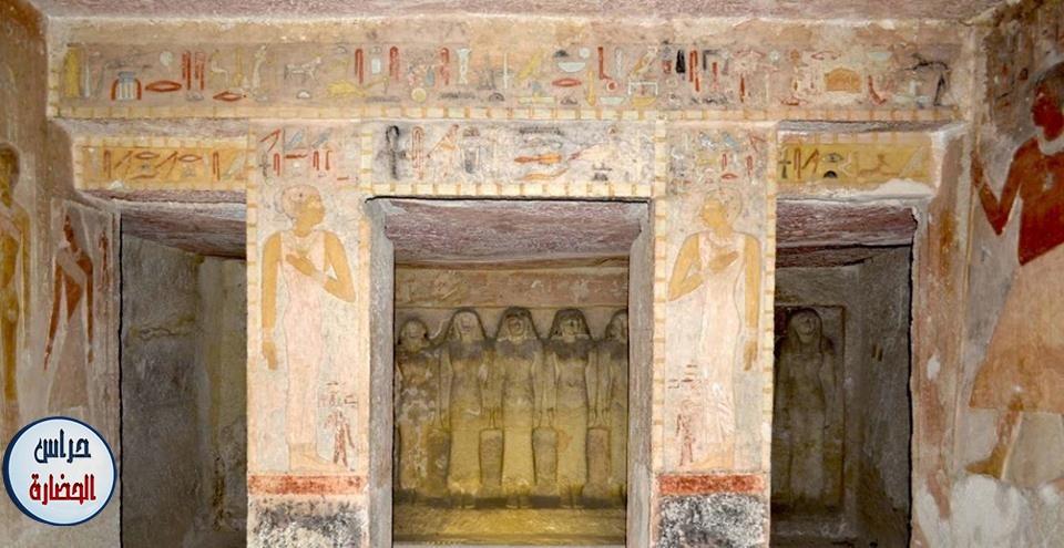 مقبرة مرس اس عنخ دولة قديمة اسرة رابعة