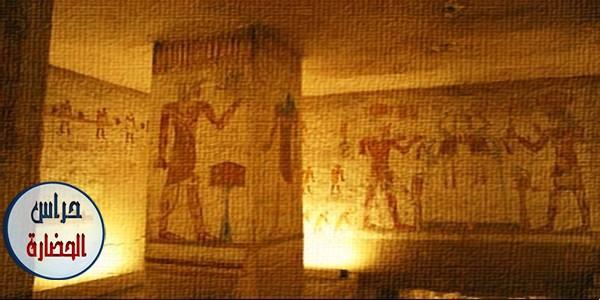 وصف المقابر الملكية ومقابر الأفراد والفرق بينها مع الأمثلة