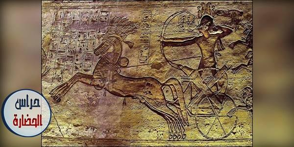 العربة أو العجلة الحربية فى العسكرية المصرية