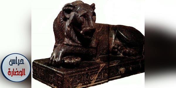 هيئة نادِرة لهيئة تماثيل أبو الهول