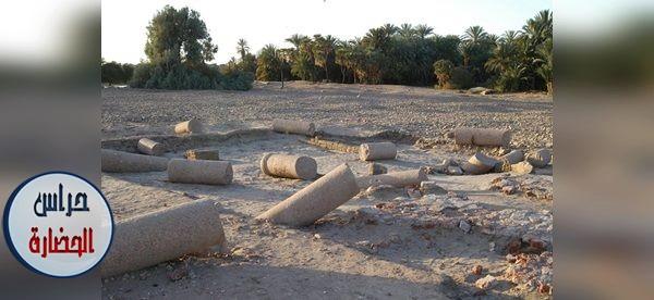 الحصن الرومانى ذو القصر الإمبراطورى بنجع الحجر بكوم أمبو