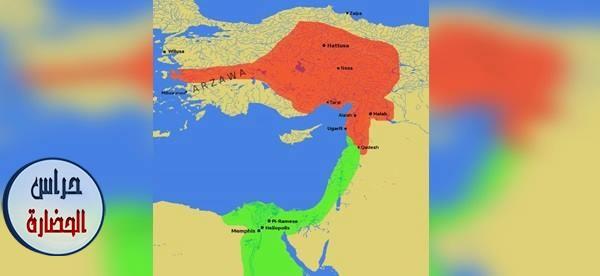 العلاقات السلميه بين مصر و خيتا (الشام) في العصور المصريه القديمه