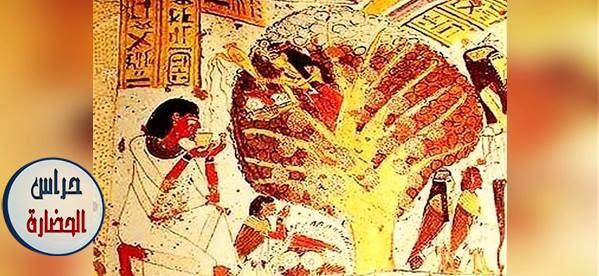 تأثير البيئه فى نشأة الدين والفن فى مصر القديمه