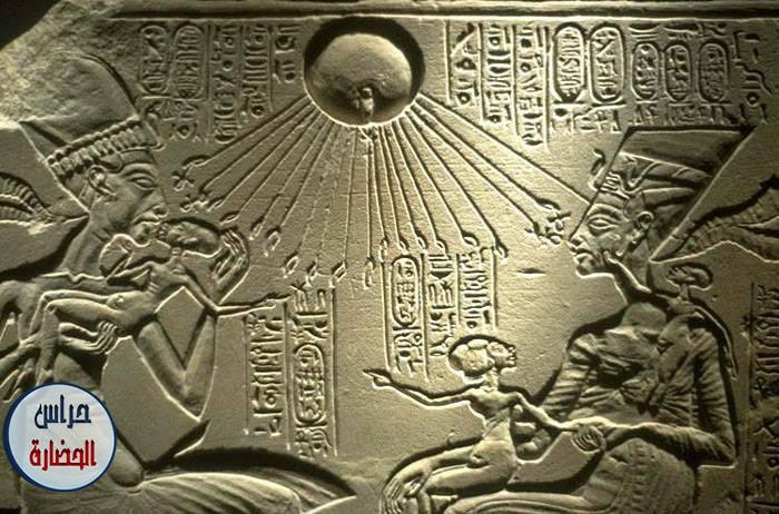 الملك أمنحتب الرابع في طيبة والملك إخناتون في آخيتاتون